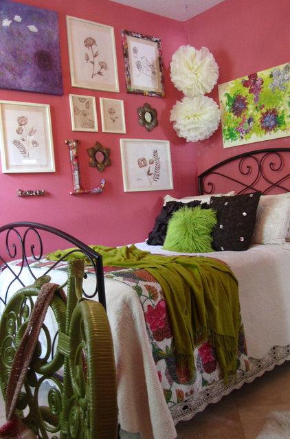 Eclectic Bedroom Watermelon Room