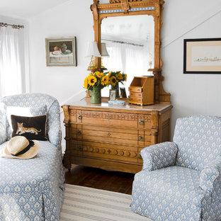 Свежая идея для дизайна: спальня в викторианском стиле - отличное фото интерьера