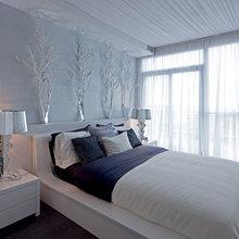 Winter Wonderland Glam Bedroom