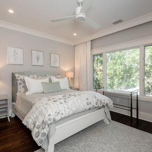 Camera da letto con pareti grigie Charleston - Foto e Idee ...