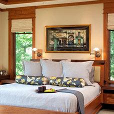 Craftsman Bedroom by John Kraemer & Sons