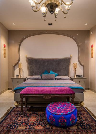 Eclectic Bedroom by Shantanu Garg Design