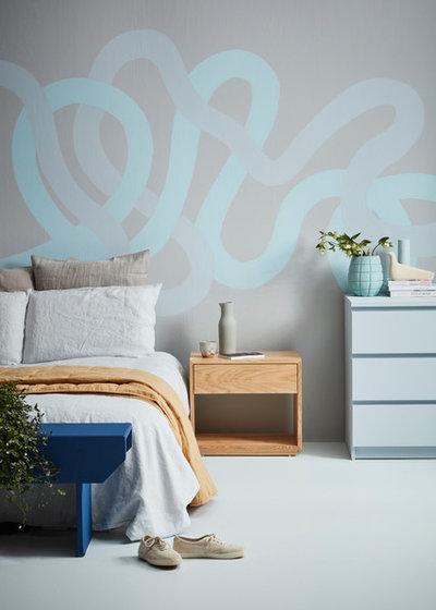 Modern Bedroom by Resene
