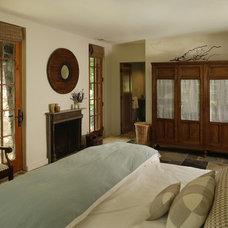 Farmhouse Bedroom by Ann Clark Architects LLC