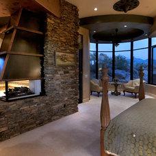 Southwestern Bedroom by Process Design Build, L.L.C.
