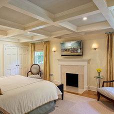 Eclectic Bedroom by B Fein Interiors LLC