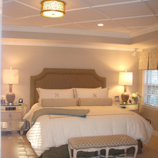 Traditional Bedroom by William Conrad & Company Interiors