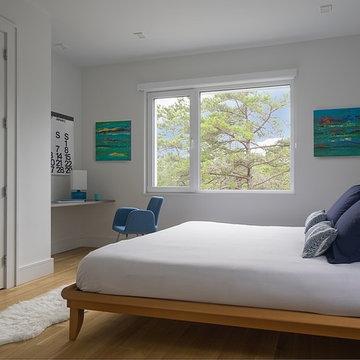 Wellfleet Modern House - Bedroom