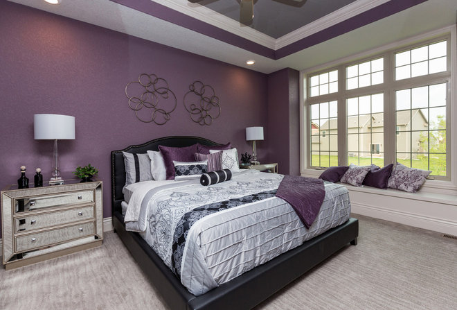 Transitional Bedroom by Kimberley Development Corporation