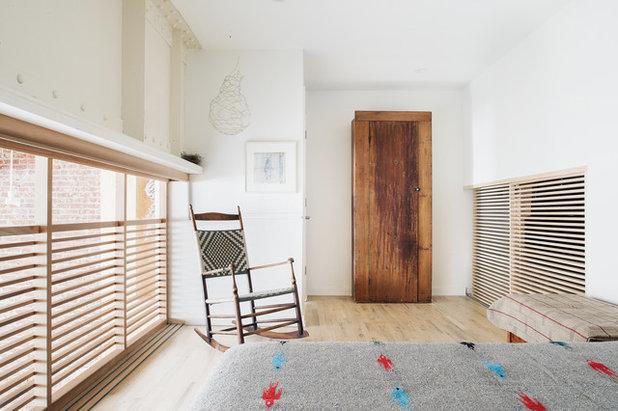 Ideal Industrial Bedroom by Jeff Jordan Architects LLC