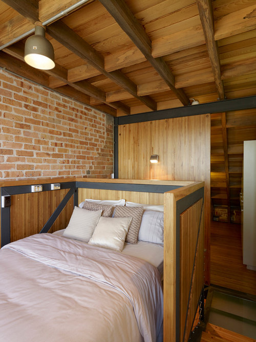 how to decorate bedroom loft style houzz 15578