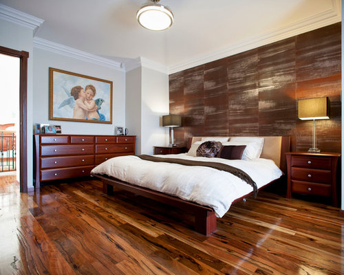Brown Accent Wall Houzz