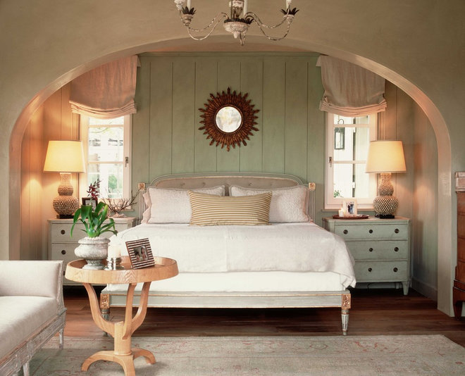 Traditional Bedroom by Wendi Young Design