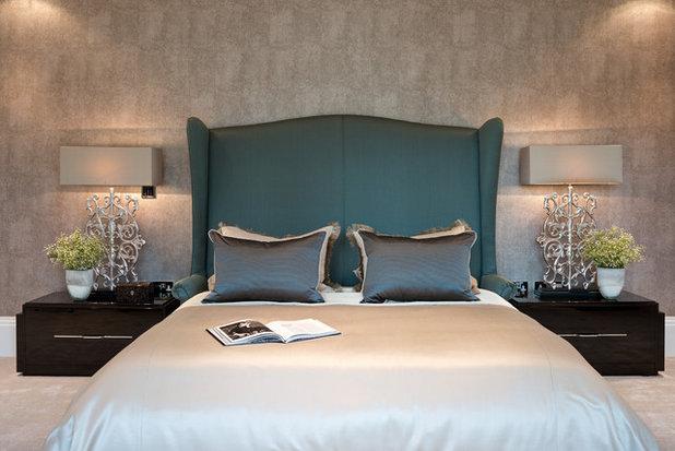 Trasformare la camera da letto in una suite di lusso con for Lampade per comodini camera da letto