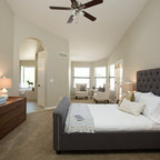 Woodlands Tx Transitional Bedroom Houston By Fede