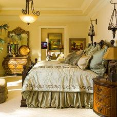 Traditional Bedroom by Wesley-Wayne Interiors, LLC