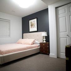 Eclectic Bedroom by Gaile Guevara