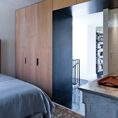 contemporary bedroom by Jane Kim Design