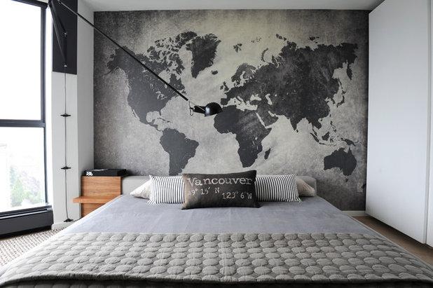 Современный Спальня by Gaile Guevara