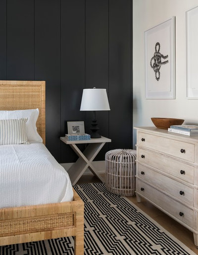 Coastal Bedroom by Cynthia Hayes Interior Design