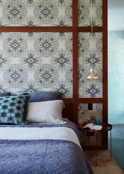 Eclectic Bedroom by Twofold Studio