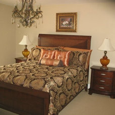 Traditional Bedroom by Shandrika's Decorating and Design