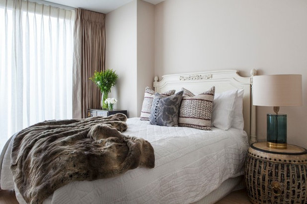 Transitional Bedroom by Emma Lewis Photography