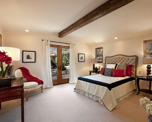 Black White Red Bedroom Houzz