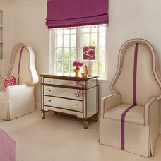 Transitional Bedroom by Annsley Interiors