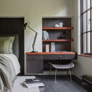 18 Beautiful Mid Century Modern Dark Wood Floor Bedroom Pictures Ideas September 2020 Houzz,Pendant Dining Table Lighting Ideas