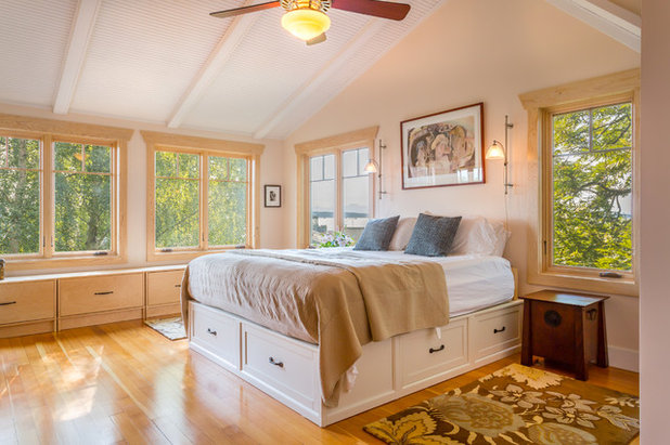 Coastal Bedroom by Cassie Daughtrey Realogics Sotheby's Realty