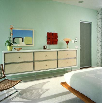 Contemporary Bedroom by Michael Richman