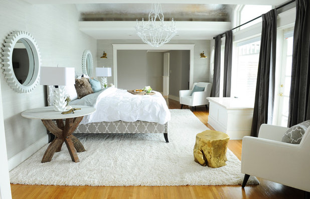 Beach Style Bedroom by PlaidFox