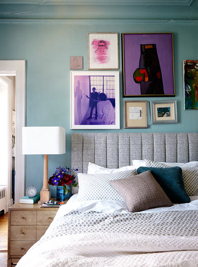 Eclectic Bedroom by Bachman Brown Design