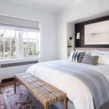 West Village Apartment Combination - Master Bedroom