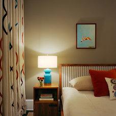 Contemporary Bedroom by Ondine Karady Design