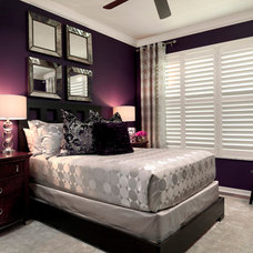 Contemporary Bedroom by Terri White Design