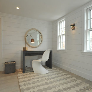 Inspiration for a modern bedroom remodel in Boston