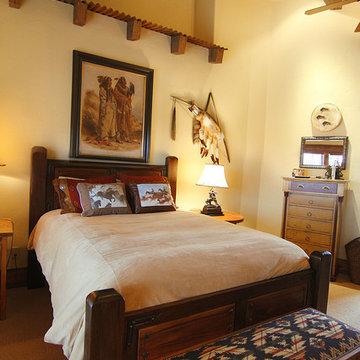 Western Mine Style bedroom