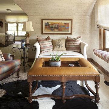 Western Themed Bedroom
