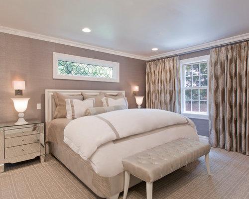 window over bed houzz. Black Bedroom Furniture Sets. Home Design Ideas