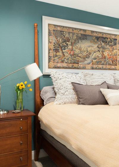 Transitional Bedroom by Virginia B. Interior Design