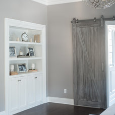 Transitional Bedroom by Cory Connor Designs