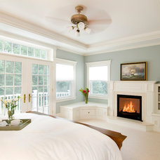 Traditional Bedroom by D.R.M. Design Build, Inc.