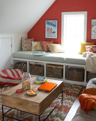 ビーチスタイル ベッドルーム by Bensonwood