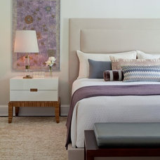 Transitional Bedroom by ALICE BLACK INTERIORS
