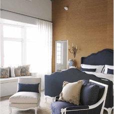 Eclectic Bedroom by Lisa Friedman Design, LLC