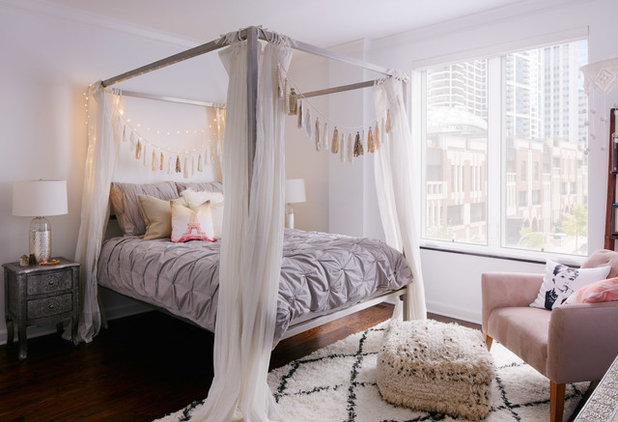Shabby Chic Style Schlafzimmer By Jen Talbot Design