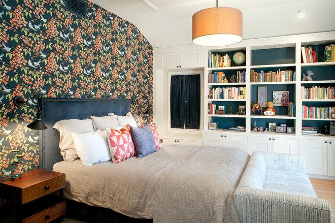 Craftsman Bedroom by JWT Associates