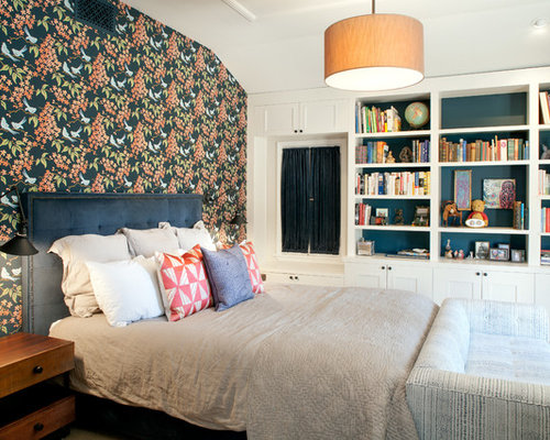 Painted Bookcase Design Ideas & Remodel Pictures   Houzz